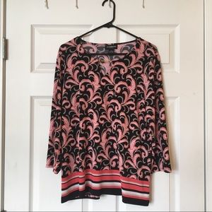 Feather detailed blouse